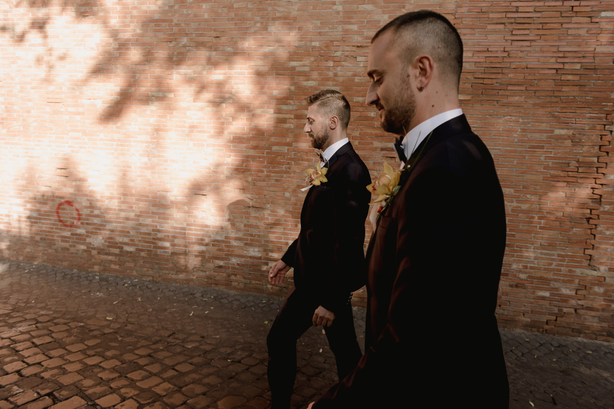 rome gay wedding photography