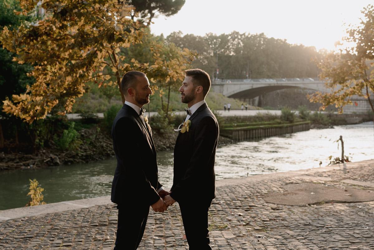 tuscany gay wedding photography