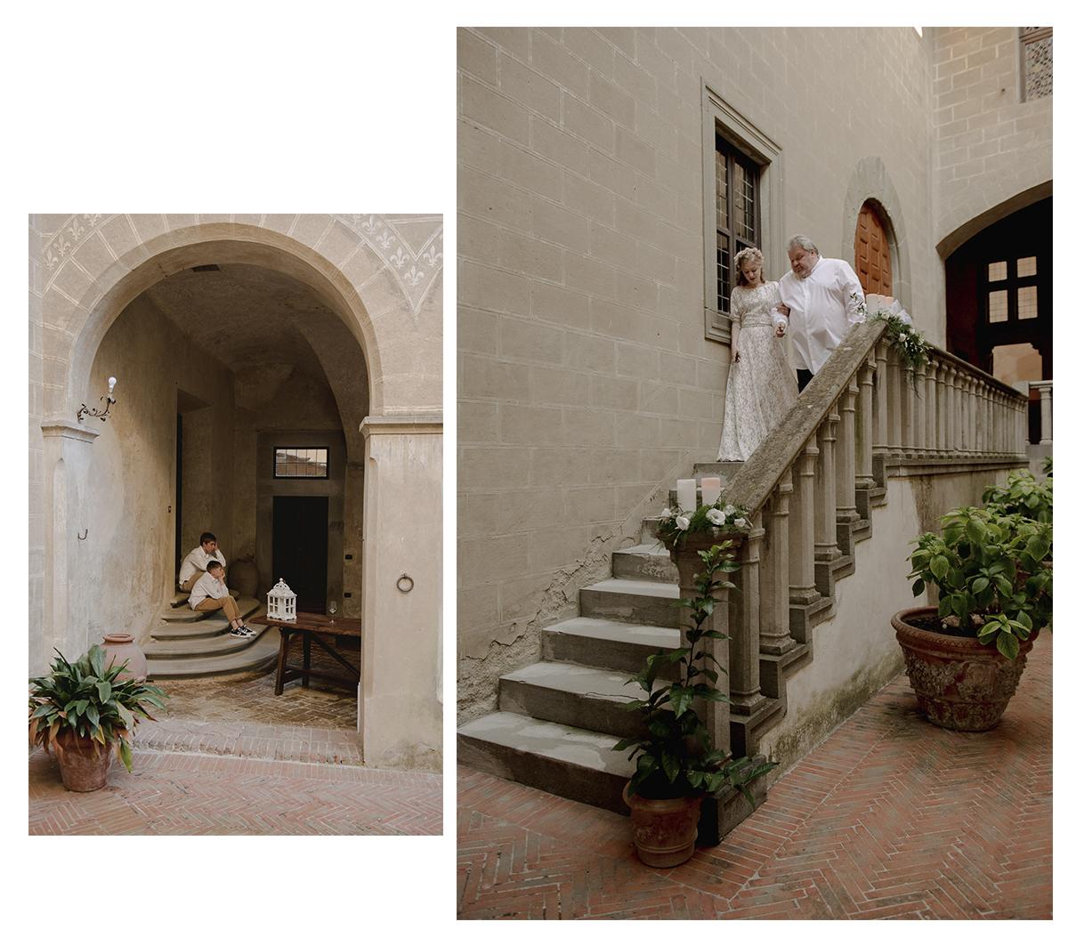 Montespertoli castle Wedding Photographer