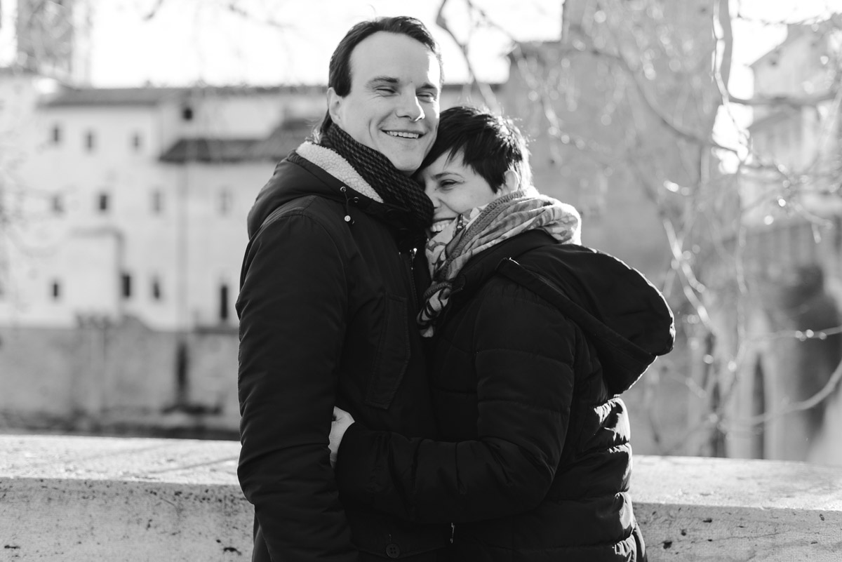 engagement session photography in rome