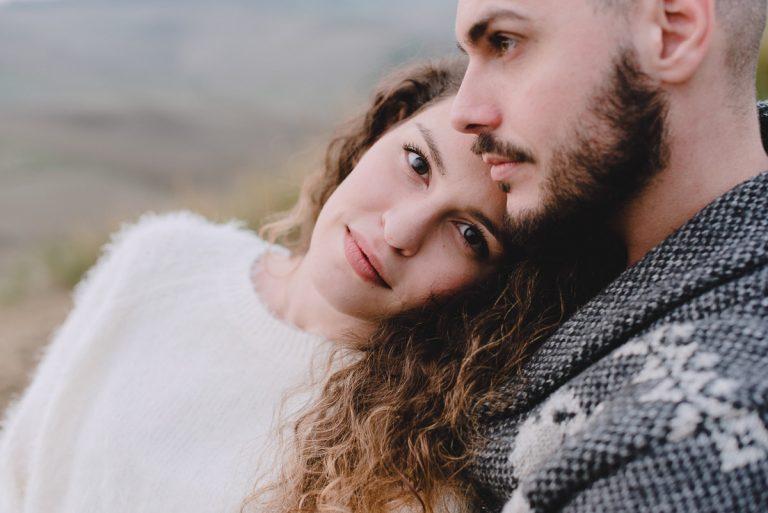 tuscany engagement photography session