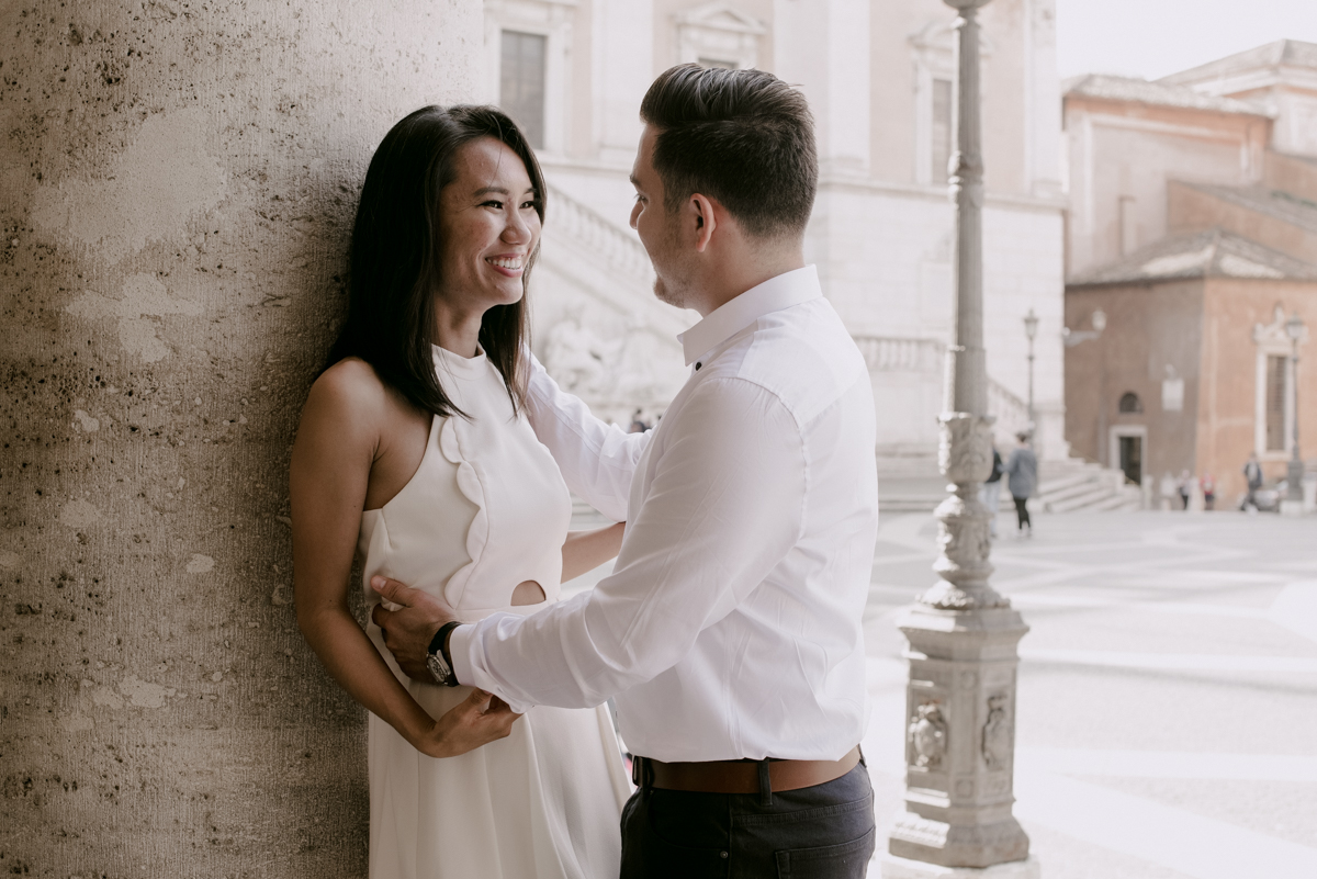 rome engagement session photographer