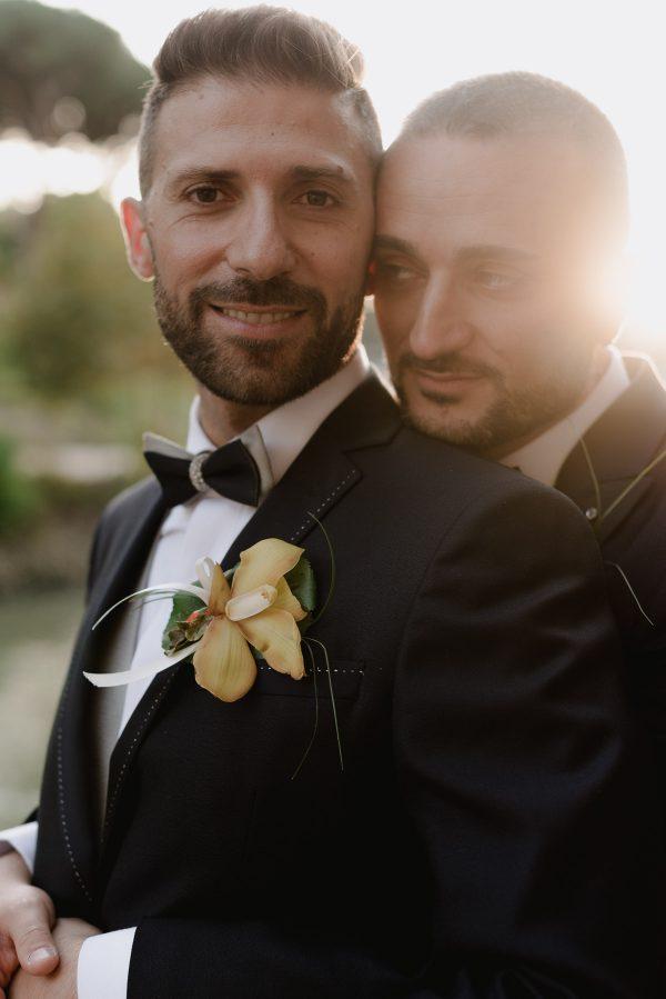 gay wedding photographer in italy